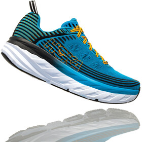 Hoka One One Bondi 6 Running Shoes Men Dresden Blue/Black
